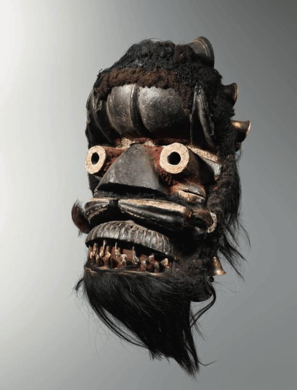 Masque to von gla Côte d'Ivoire