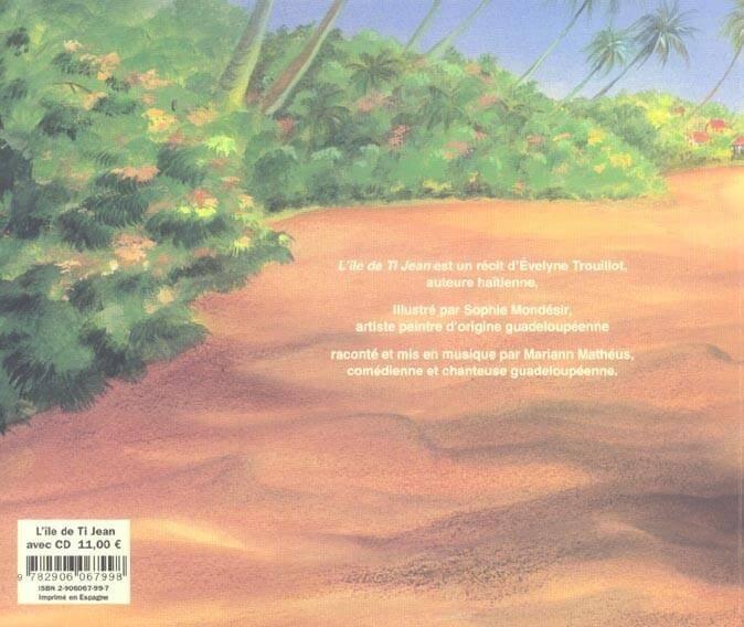 L'île de Ti Jean (avec un CD), Evelyne Trouillot