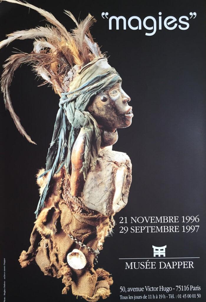Affiche de l'exposition. © Fondation Dapper.